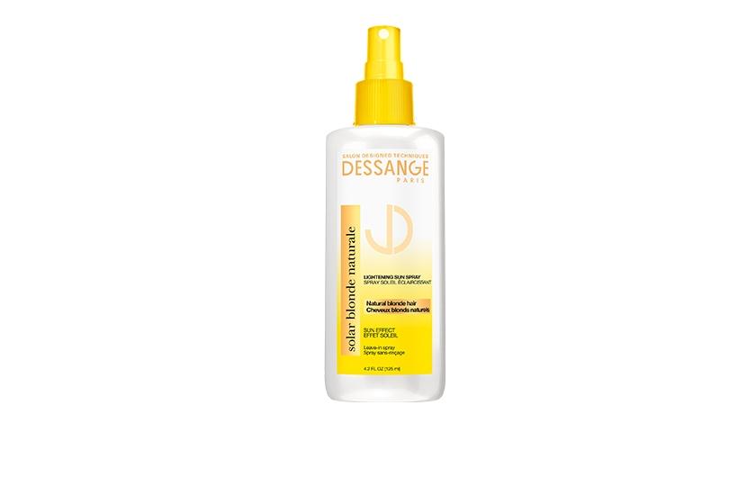 Solar Blonde Naturale Lightening Sun Spray, $15, helps clarify and lighten natural blonde hair.