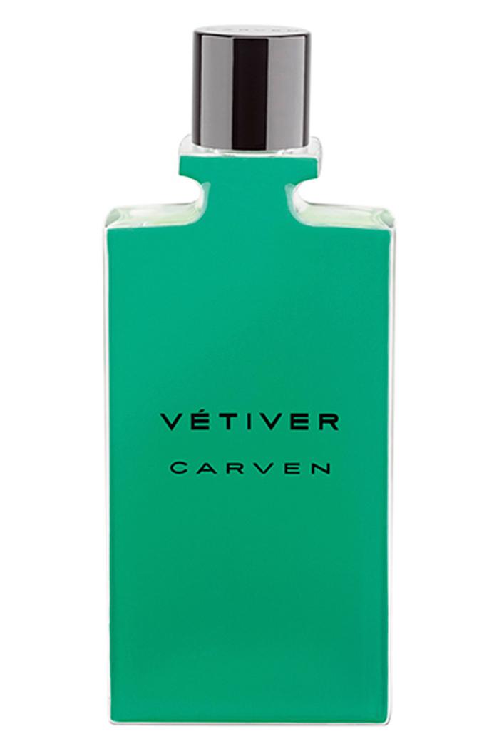 CarvenVétiverEau de Toilette, from $80, 50 mL,at Holt Renfrew