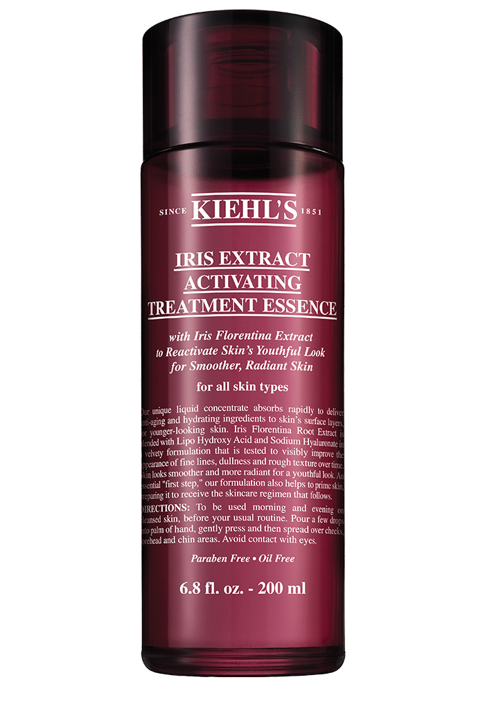Kiehl's Iris Extract Activating Treatment Essence, $52, at Kiehl's counters