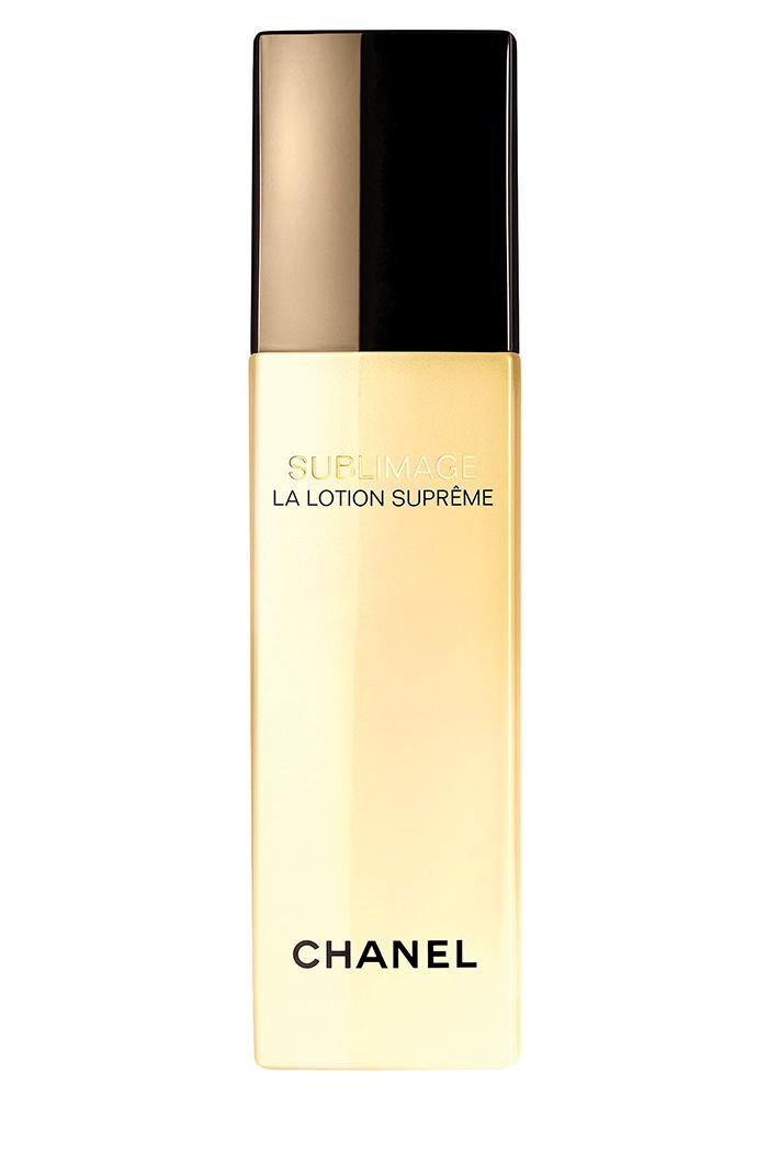 Chanel Sublimage La Lotion Suprême, $200, at Chanel counters
