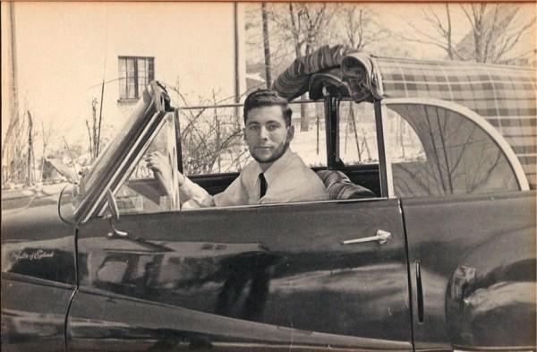 Shavitz as a young man