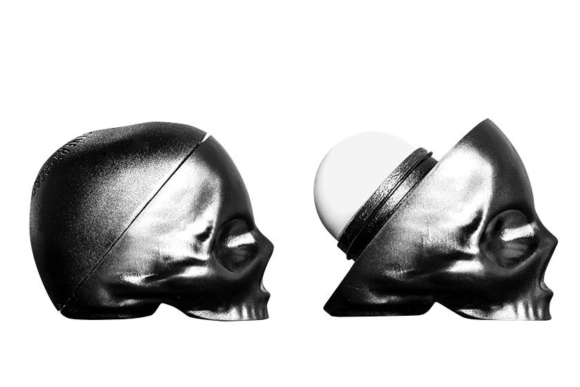 Rebels Refinery Capital Vices Skull Lip Balm, $8