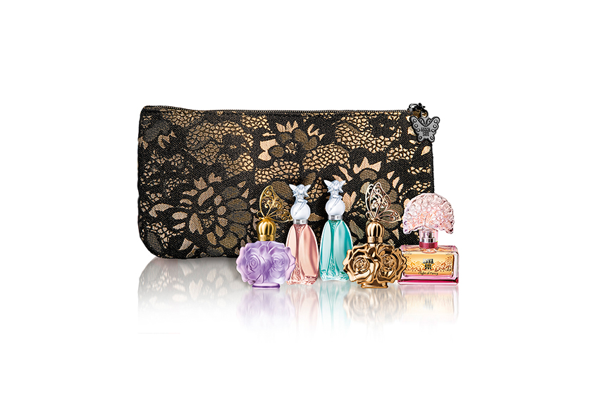 Anna Sui Limited Edition Miniature Fragrance Collection, $58, at Hudson's Bay, Shoppers Drug Mart, Murale and select Jean Coutu locations