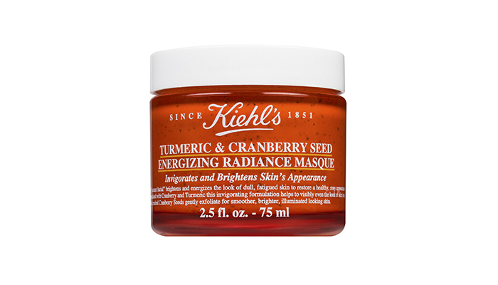 KIEHL'S TURMERIC & CRANBERRY SEED ENERGIZING RADIANCE MASQUE, $45, AT KIEHL'S COUNTERS