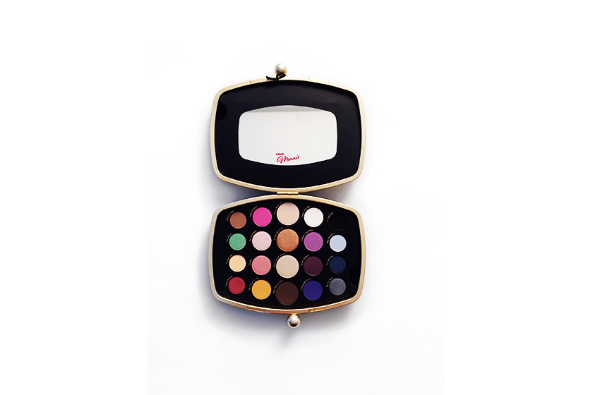 Minnie's World in Color Eye Shadow Palette, $56