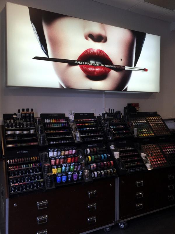 Inside the Make Up For Ever ProLoft Toronto