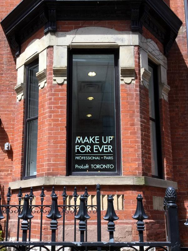 Make Up For Ever ProLoft Toronto, 12 St. Joseph Street