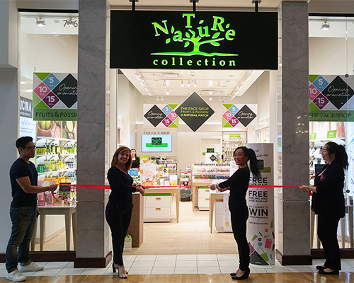 Nature Collection's store opening at Vaughan Mills