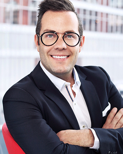 Jared MacKay,L'Oréal Canada's chief retail officer