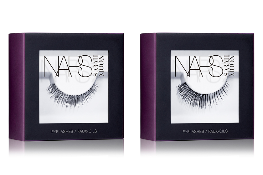 Nars Eyelashes in (from left) Numéro 9 and Numéro 10, $25 each, available at all Nars retailers