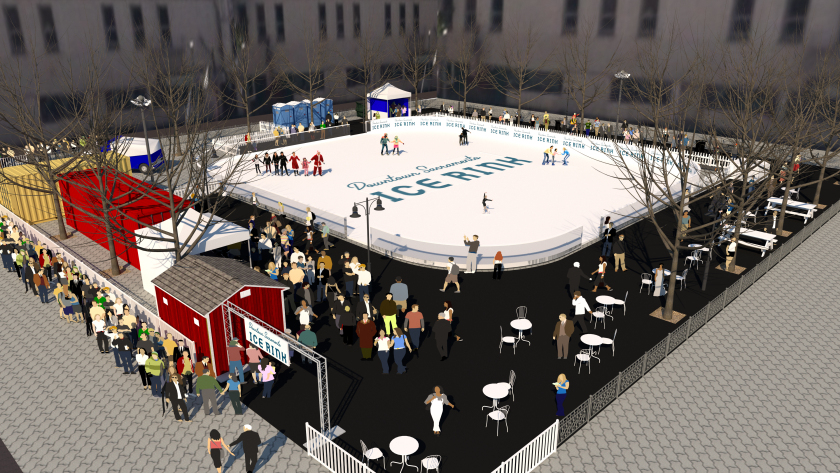 We've wrapped up another project for the  Downtown Sacramento Partnership , this time the reworking of the Downtown Ice Rink brand for the rink's relaunch in Fall of 2018. Look for new print & digital advertising, environmental, wearables and signage starting this month.