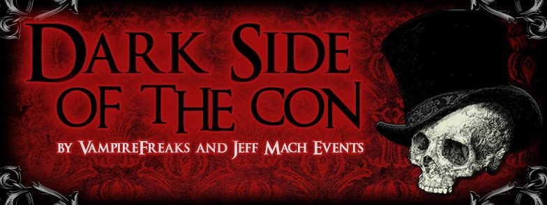 """Come walk through a Dark haven and meet a veritifable feast of creators, developers, designers, and curators of Dark, Gothic, Strange, and Unusual Art, Fashion, Items and Treasures of every sort, Kink & Alternative tools and toys, Games, and other works of the mind made real by your talented and creative kindred.  For all the weirdos, freaks and independent thinkers who are drawn to the darkside, we welcome you!  Our performers for the weekened will delight and astound you:  Aurelio Voltaire   Panic Lift   Justin Symbol and the God Bombs   Panzie*   The Amatory Murder   Xentrifuge   The Long Losts   Psyche Corporation   Jess-O-Lantern   """"Karnevil""""   Night Gallery   Infinitus Mortus   Valentine Wolfe   Nicole Oliva  Three Pints Shy  Every night of the Con: DJ party by VampireFreaks, the longtime producers of Cybertron, Triton Festival, and other industrial / darkwave delights. Friday Night: Cybertron DJ dance party Saturday Night: Villains Costume Ball DJ's:  Mike Saga , Jet , END: the DJ , DJ Phoenixxx , Xris SMack (bday set) Annabel , Jaycee , V Christ , Aengel , Swabby   Burlesque Performances:  Lydia Vengeance , Ashley Bad , Dolly Momoiro , Holly Sinner Parker   Fire Performer: Kali Va  Plus - REPO! The Genetic Opera shadow cast Indoor Pool Party with DJ's Coveilance Dance Project Ball Pit Movies Showings Dark-themed Panels  Gothic Vendors Surprises!  Add that to our many games, meetups, and socializing, and you've got a mesmerizing event!  For 3 Days we take over the beautiful Radisson Hotel in Piscateway, NJ and provide you with an escape to socialize, make new friends and create new experiences.  Attend talks, panels, and Q&A sessions on many subjects near and dear to your heart, interspersed with some burlesque, some talented musicians, and some fire and sideshow performers.   But most of all: Come be part of the only event of its kind in North America!  Brought to you by:  VampireFreaks / Triton Festival and   Jeff Mach Events / The Steampunk World's Fair   """