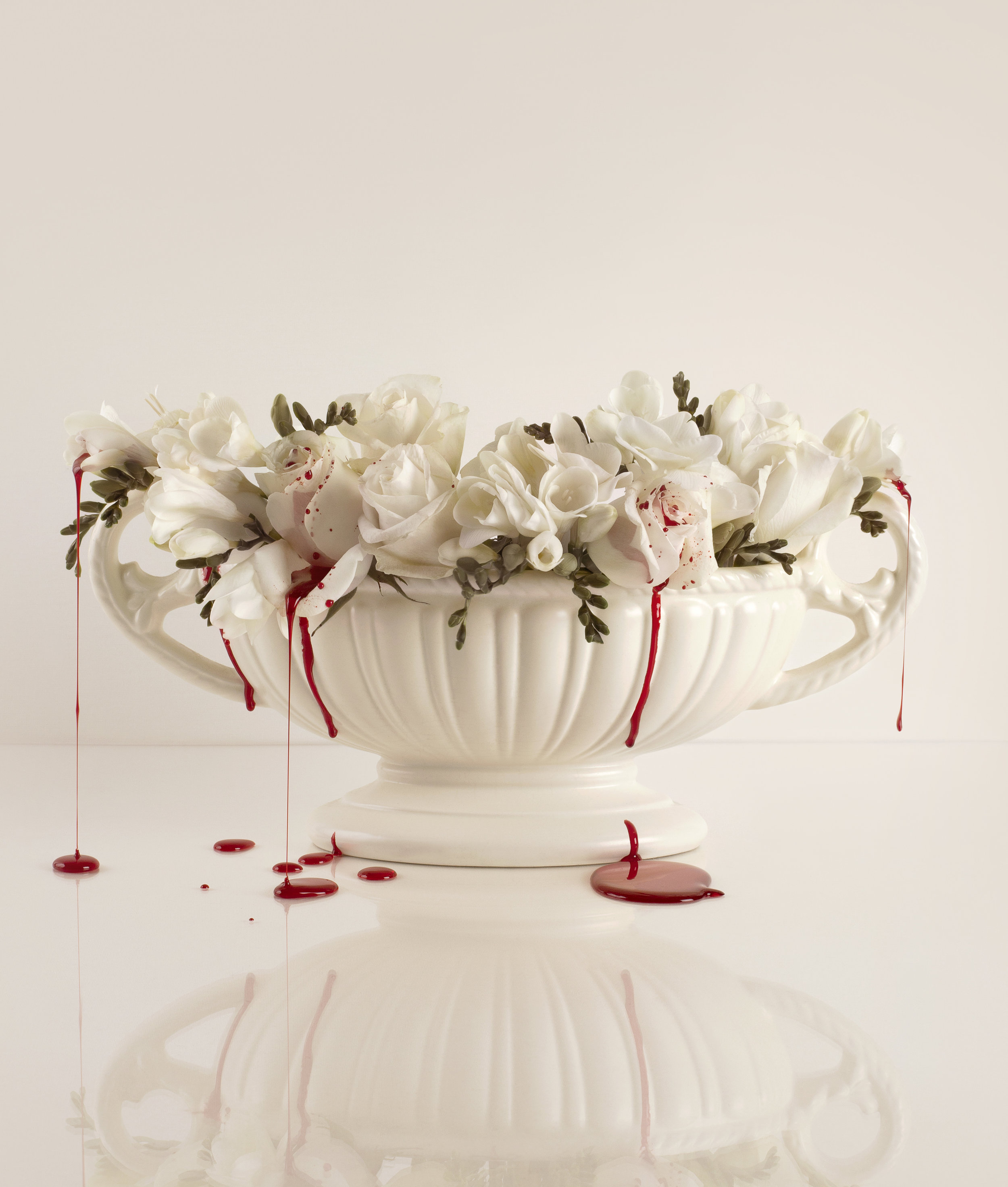 Blood & Roses (2) - colour photograph, edition of 5 + AP