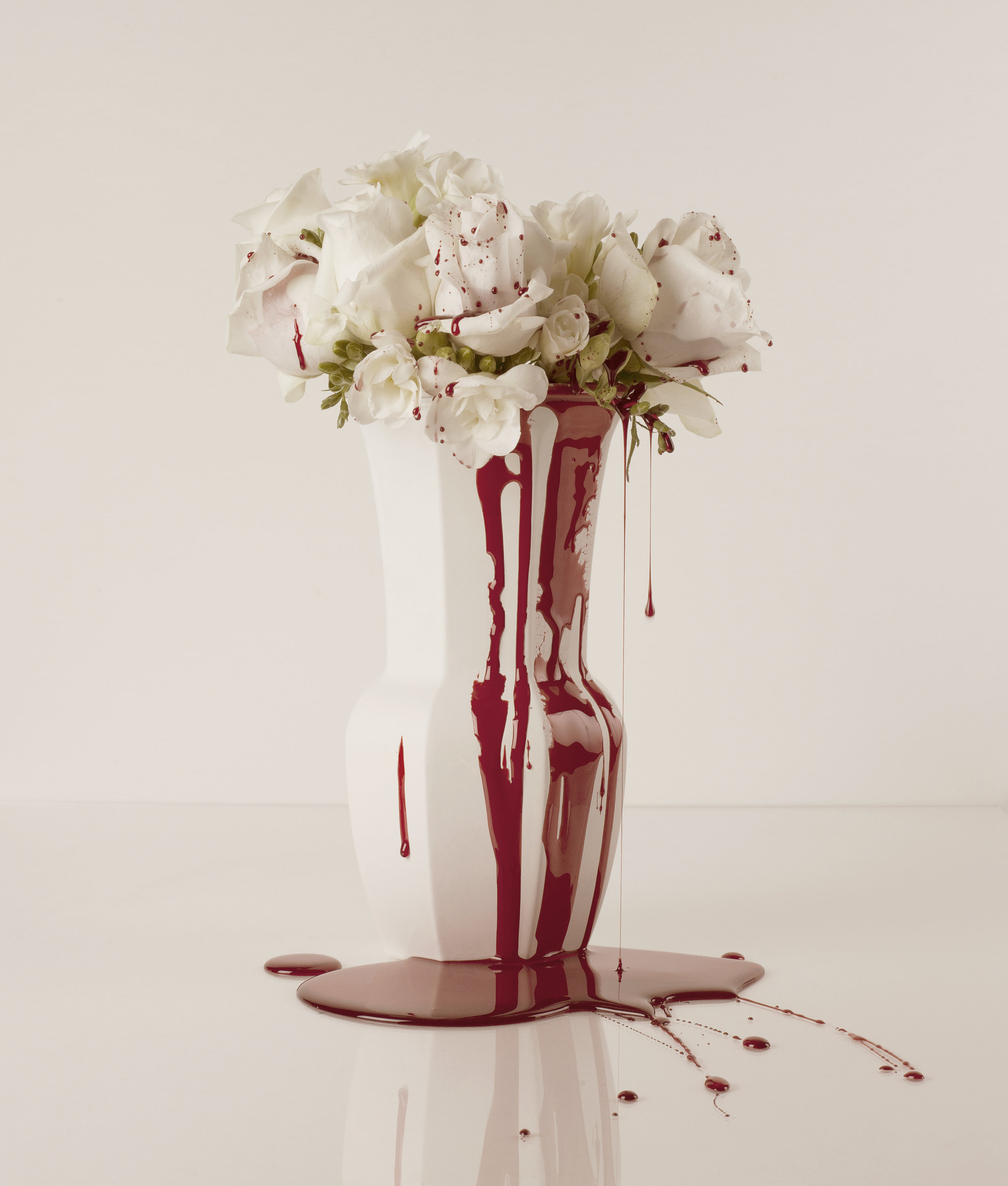 Blood & Roses (5) - colour photograph, edition of 5 + AP