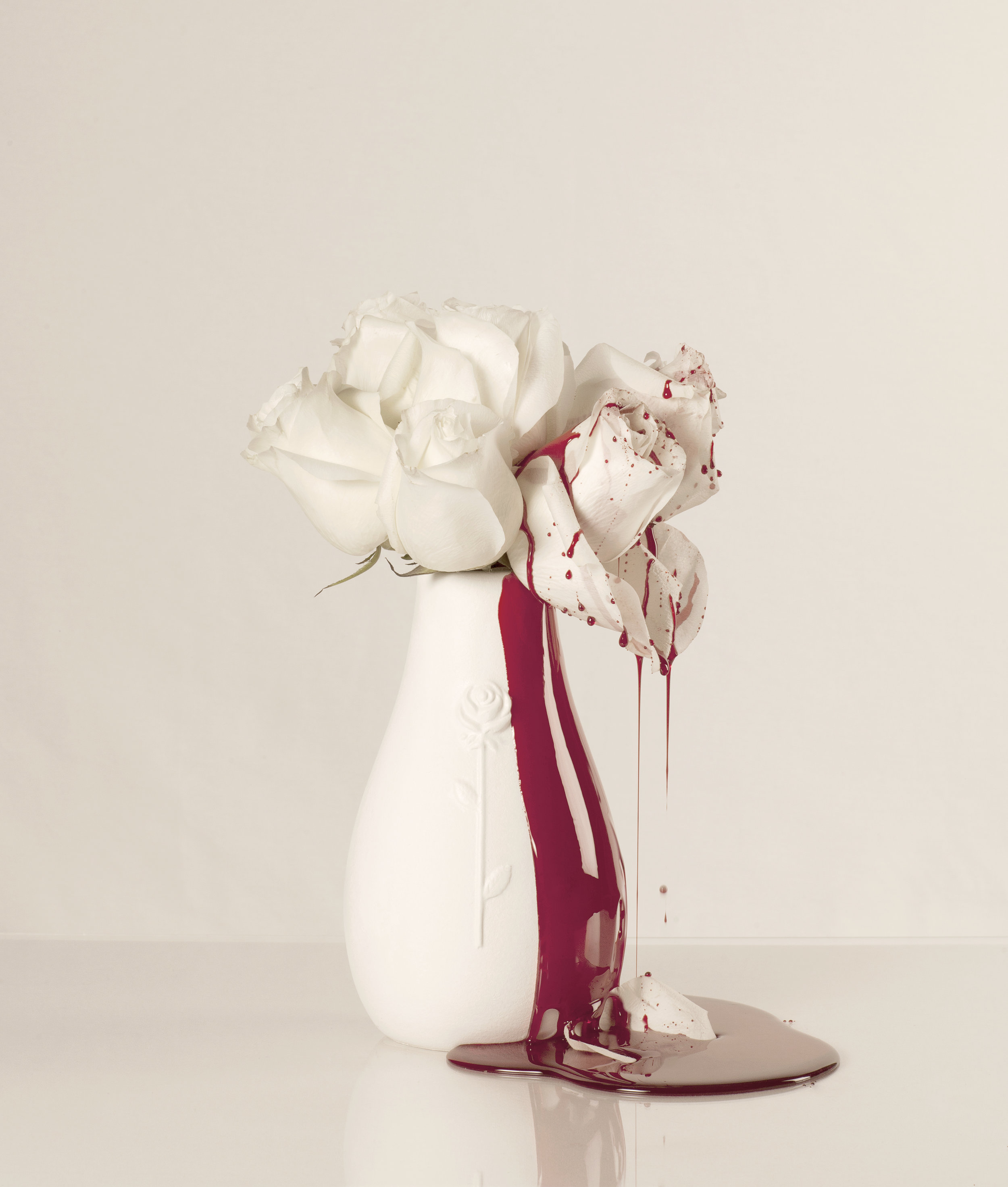 Blood & Roses (12) - colour photograph, edition of 5 + AP