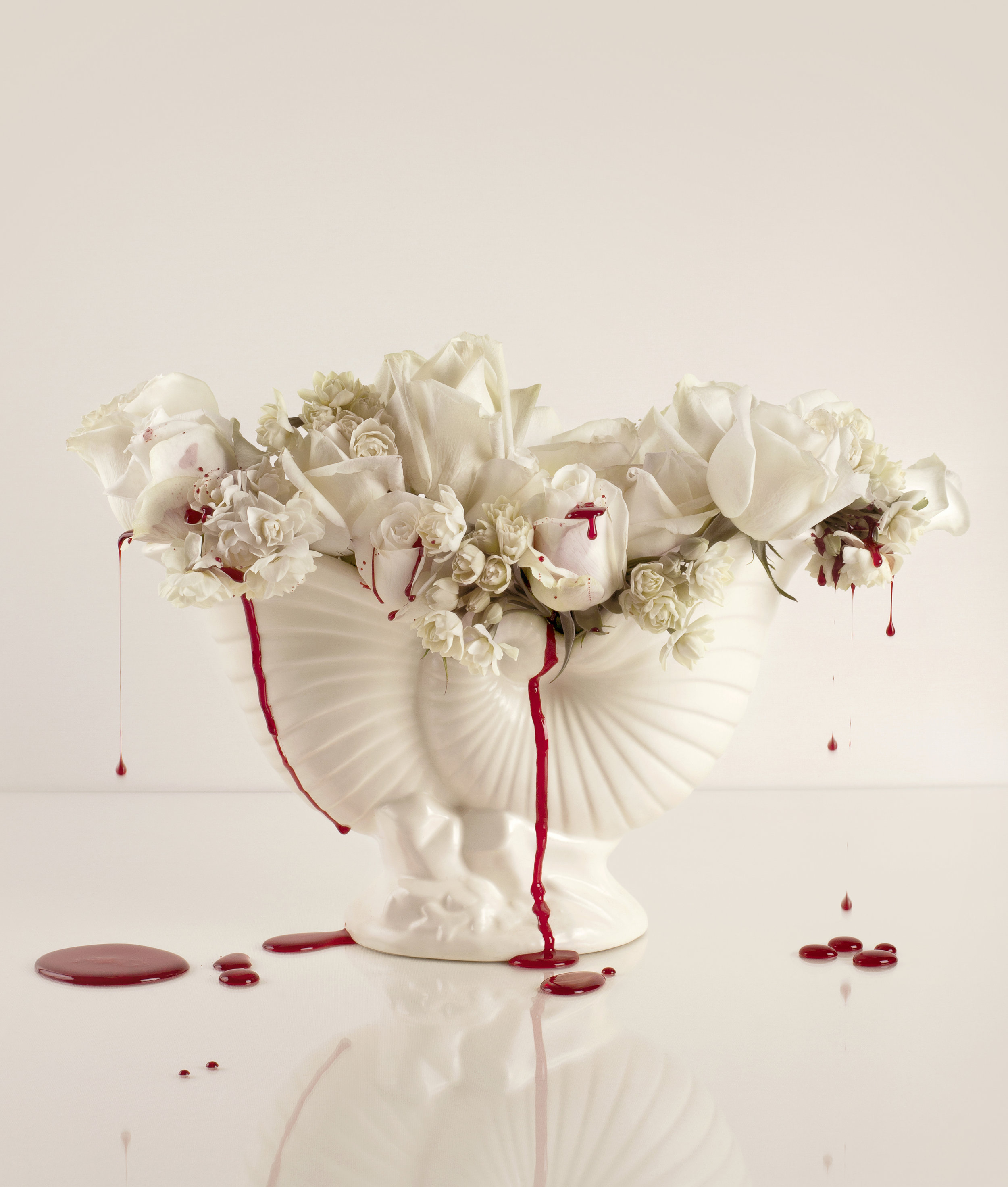 Blood & Roses (13) - colour photograph, edition of 5 + AP