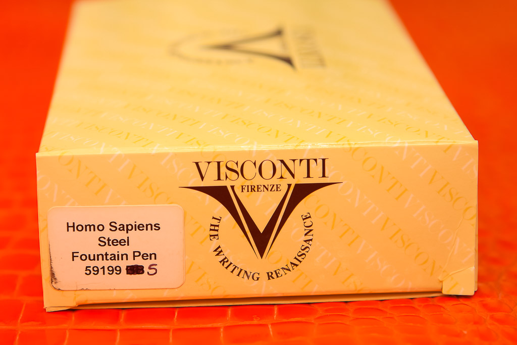 Visconti Homo Sapiens Steel Age 1.3mm Stub