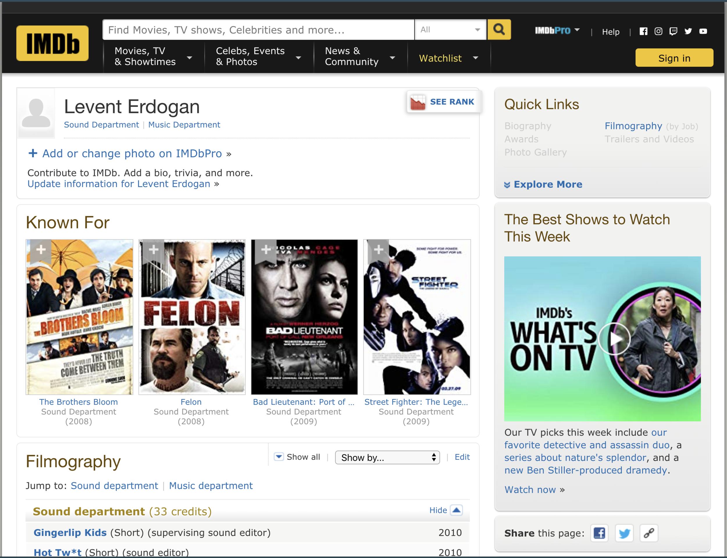 Click image to be taken to IMDB profile.