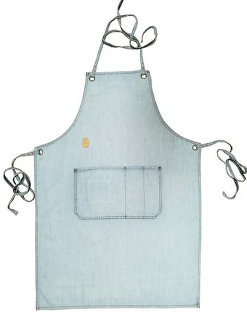 Superbleach Wash Denim Apron - $69.95   Denim apron in a superbeach wash for a super vintage look with a great casual summer vibe.  100% Cotton  Unisex sizing   Body length is approx 87cm from top to hem and 62cm across widest part-not including straps