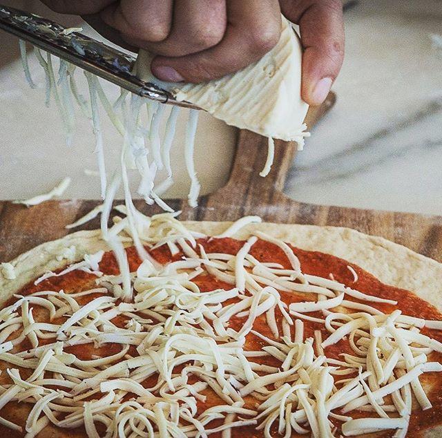 Pre-oven pizza beauty