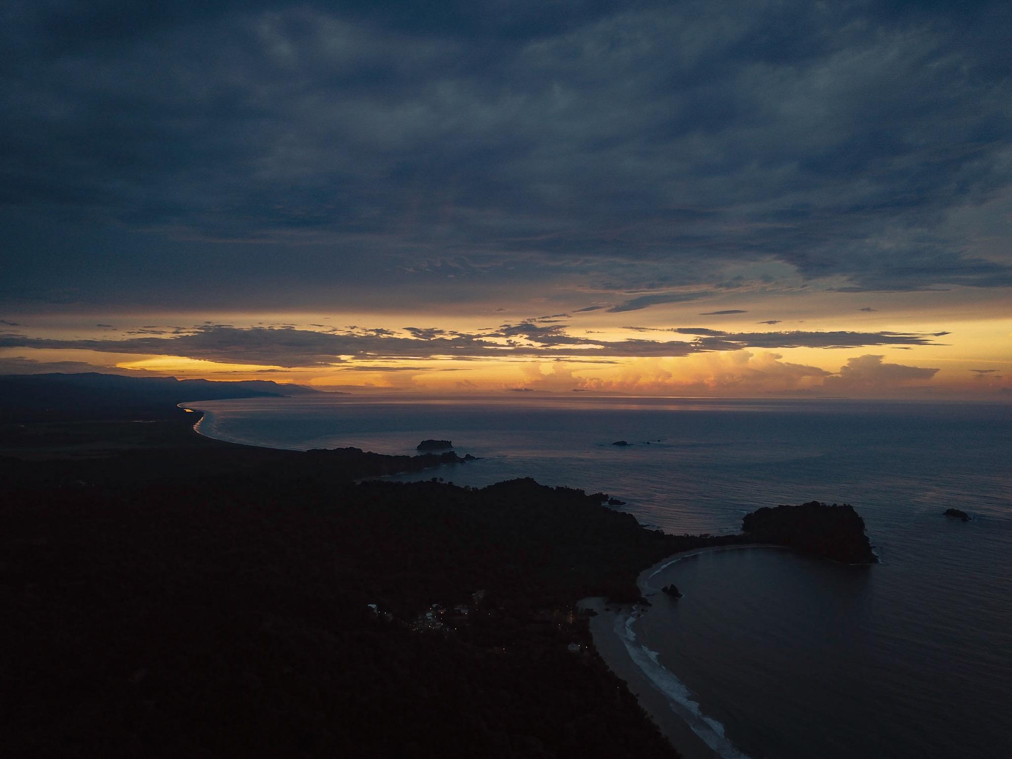 ManuelAntonio-sunrise-Yoga-Retreat-Drone-Photography-Costa-Rica