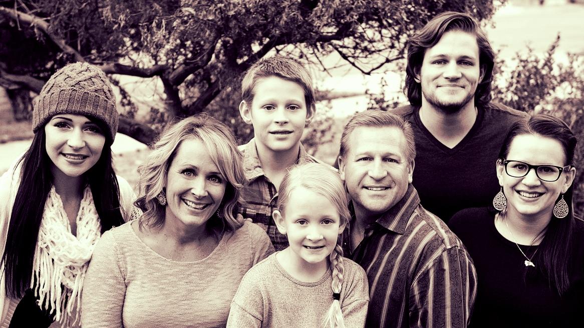 Julie de Azevedo Hanks & family 2014