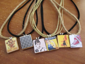 A Collection of Amy's Tile Jewelry
