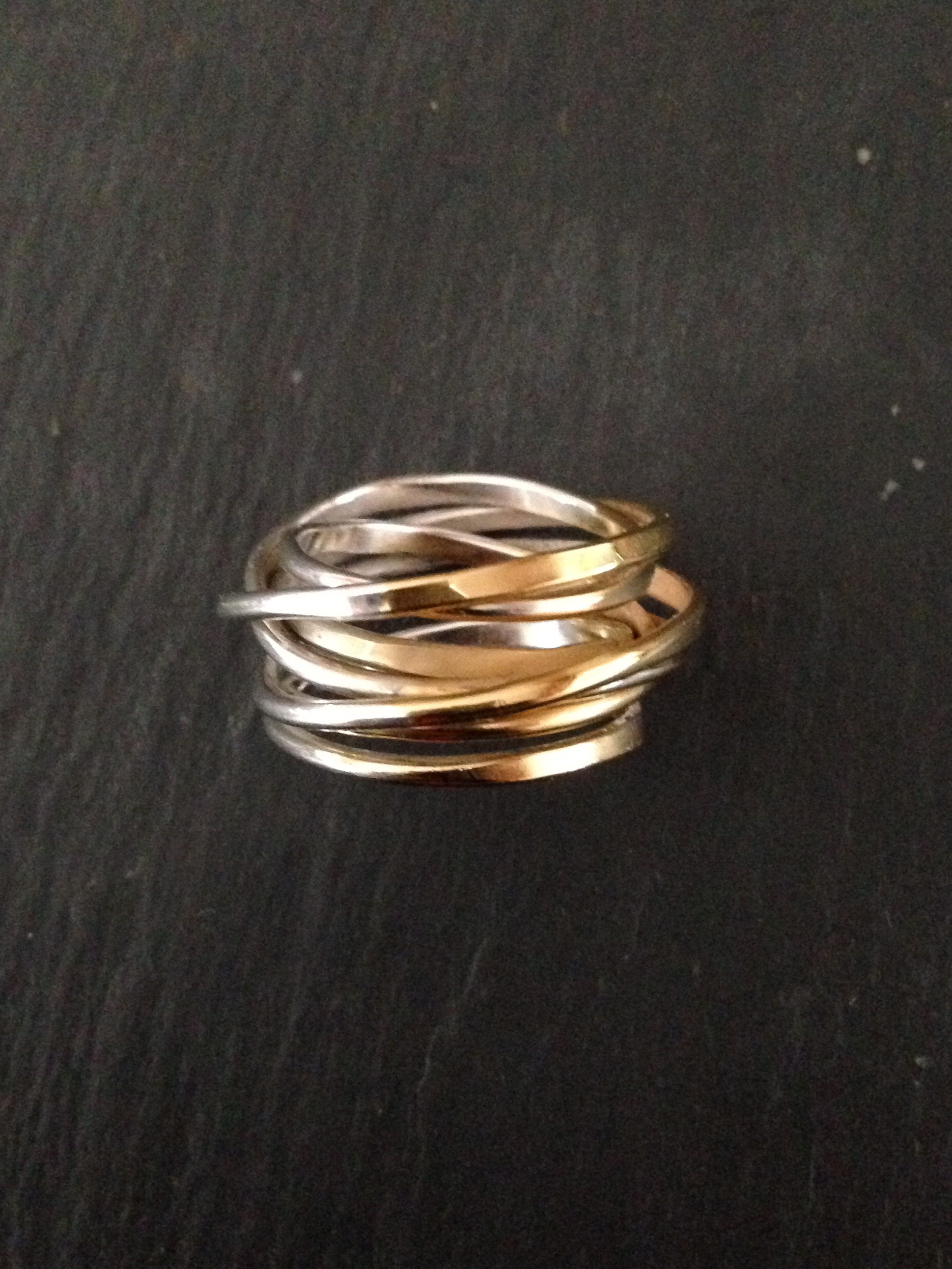 Ombre Cosmic Ring