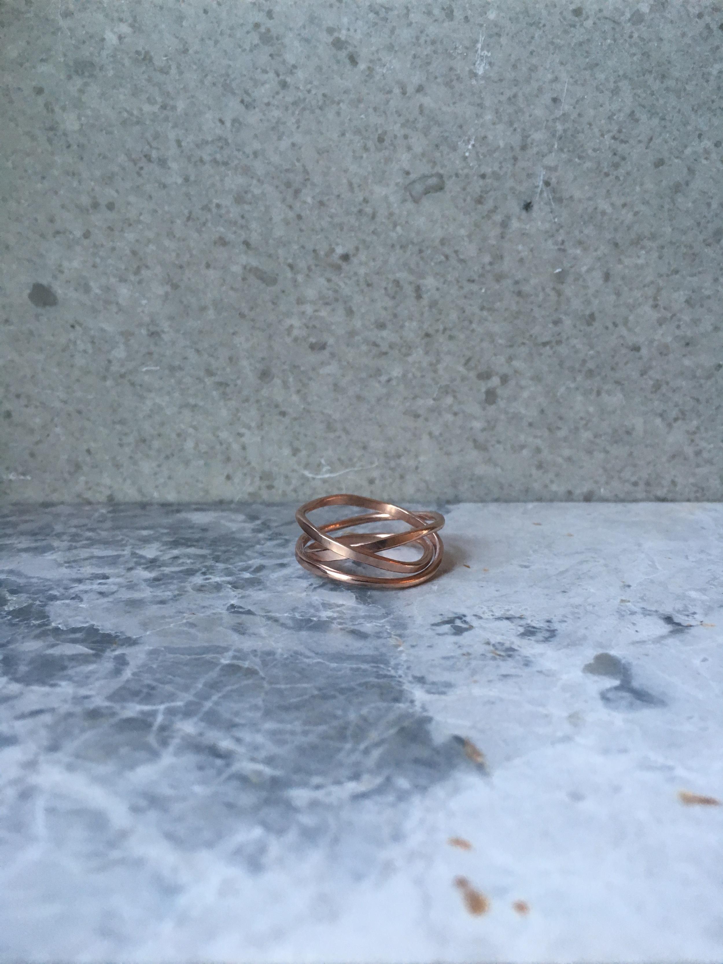 18 carat Rose Gold Vermeil