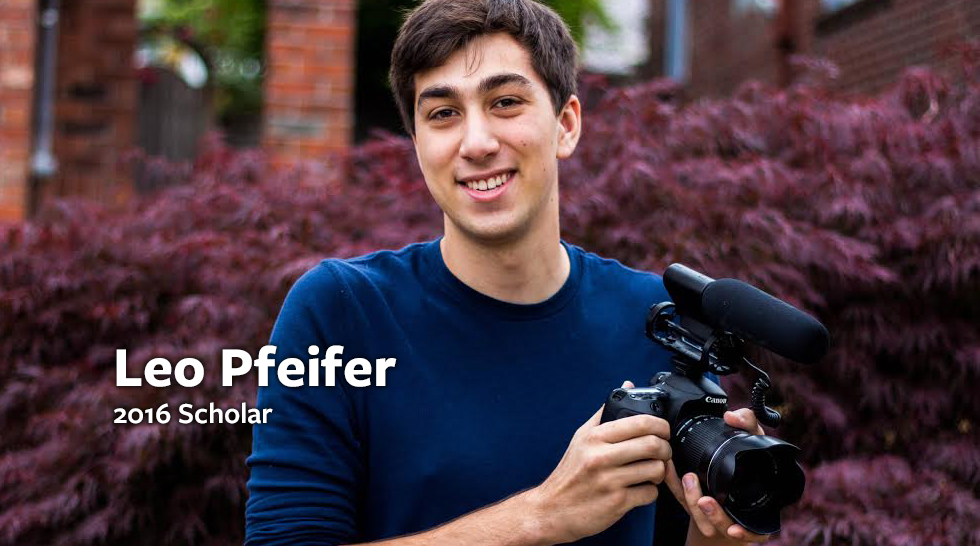 2016 Scholarship Recipient: Leo Pfeifer
