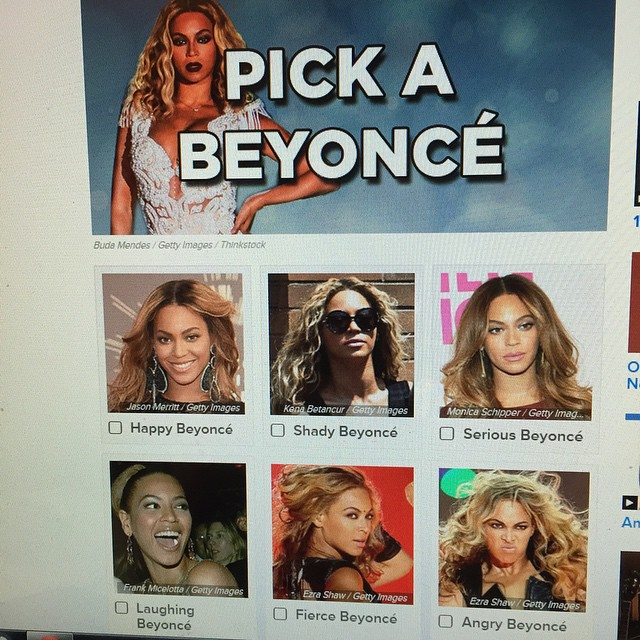 Wait, I have to pick just one??? #beyonce #buzzfeed #freakumdressbeyonce