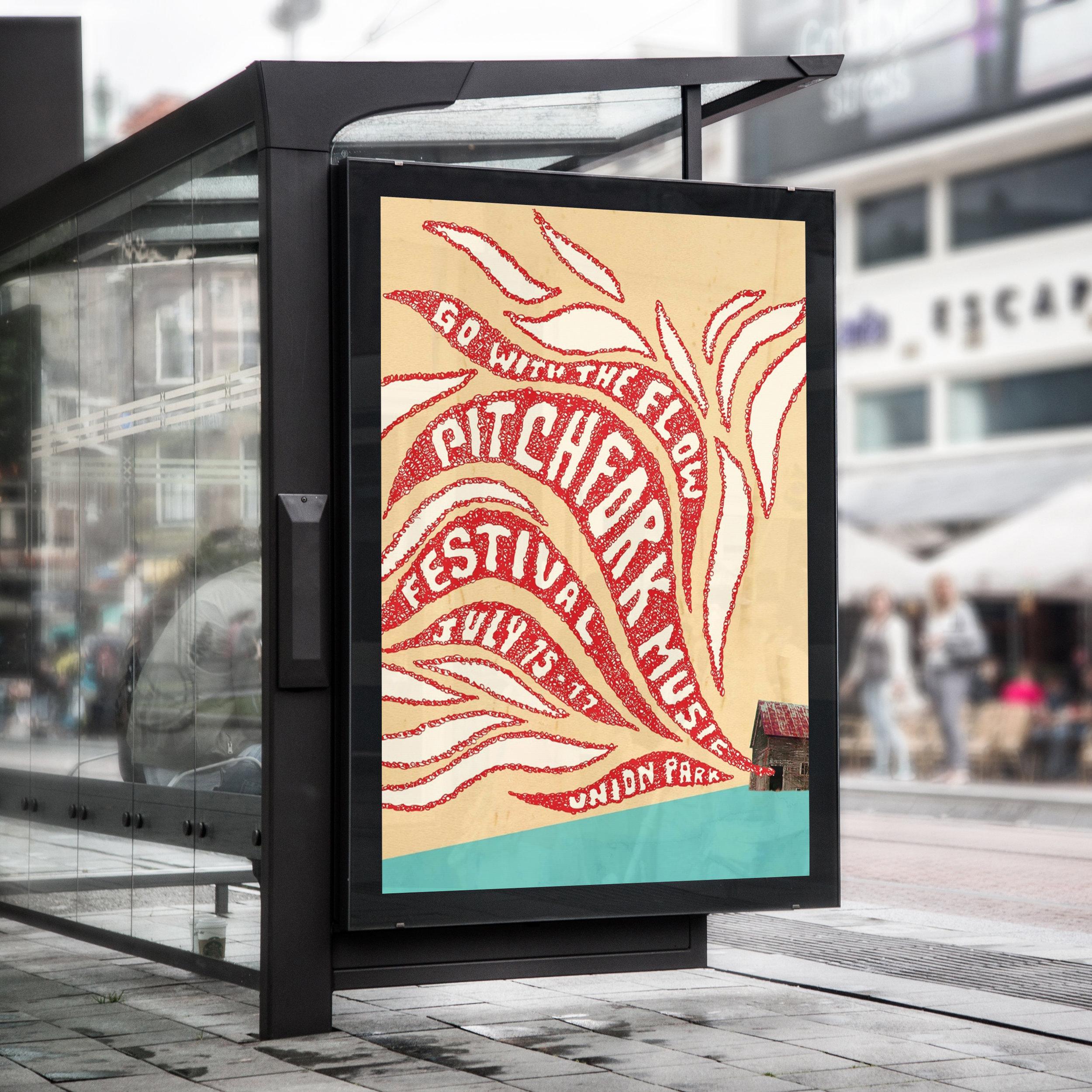 Pitchfork Music Festival Website & Poster concept