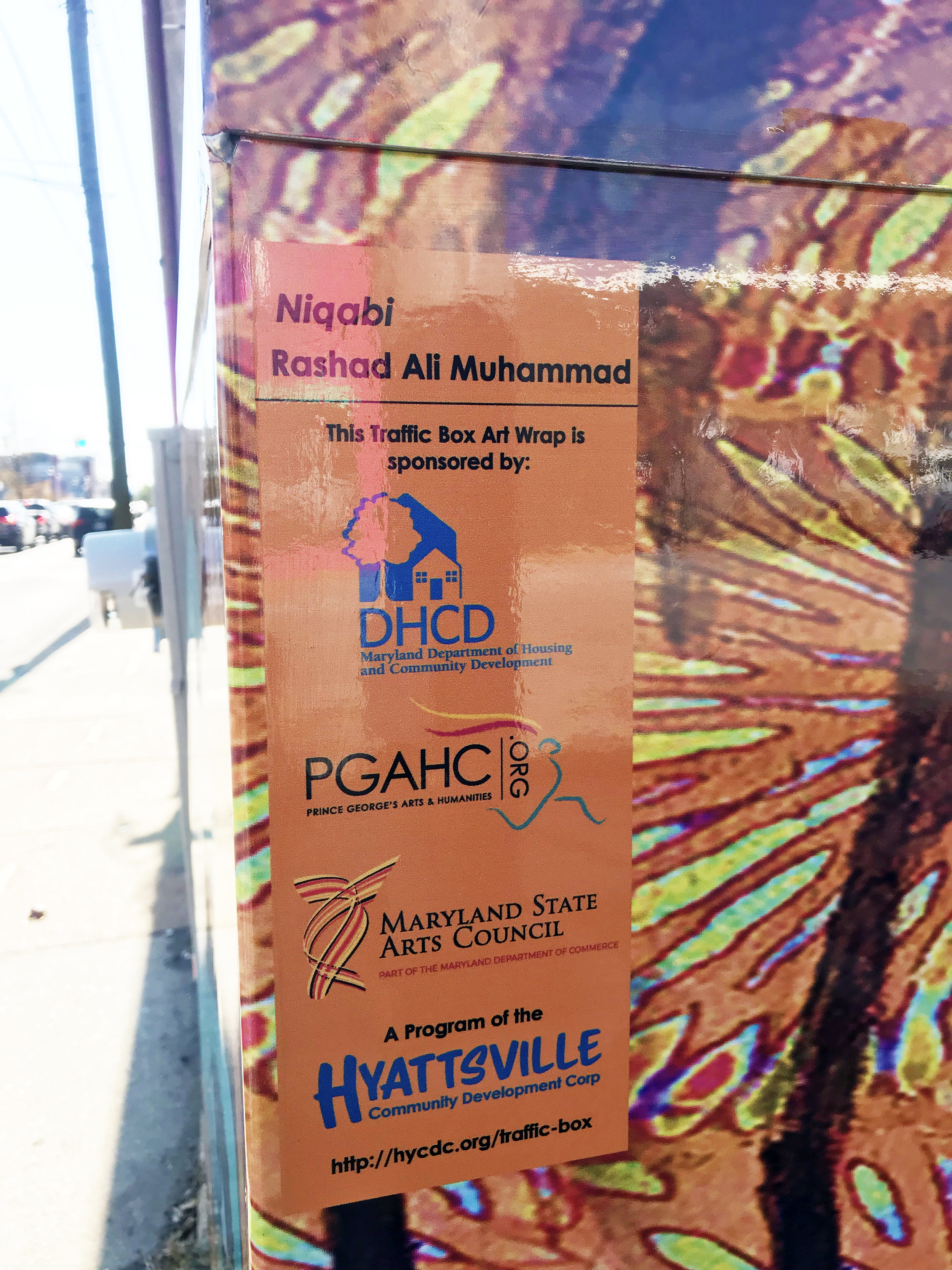 rashad ali muhammad traffic box art wrap