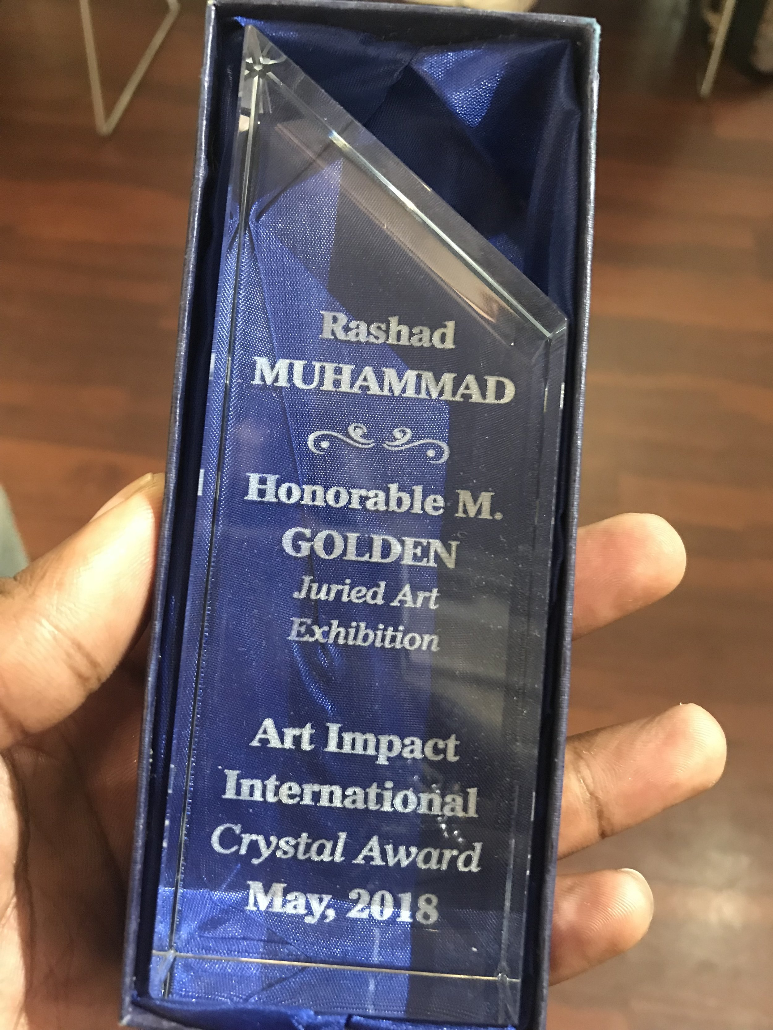 rashad ali muhammad honorable mention golden