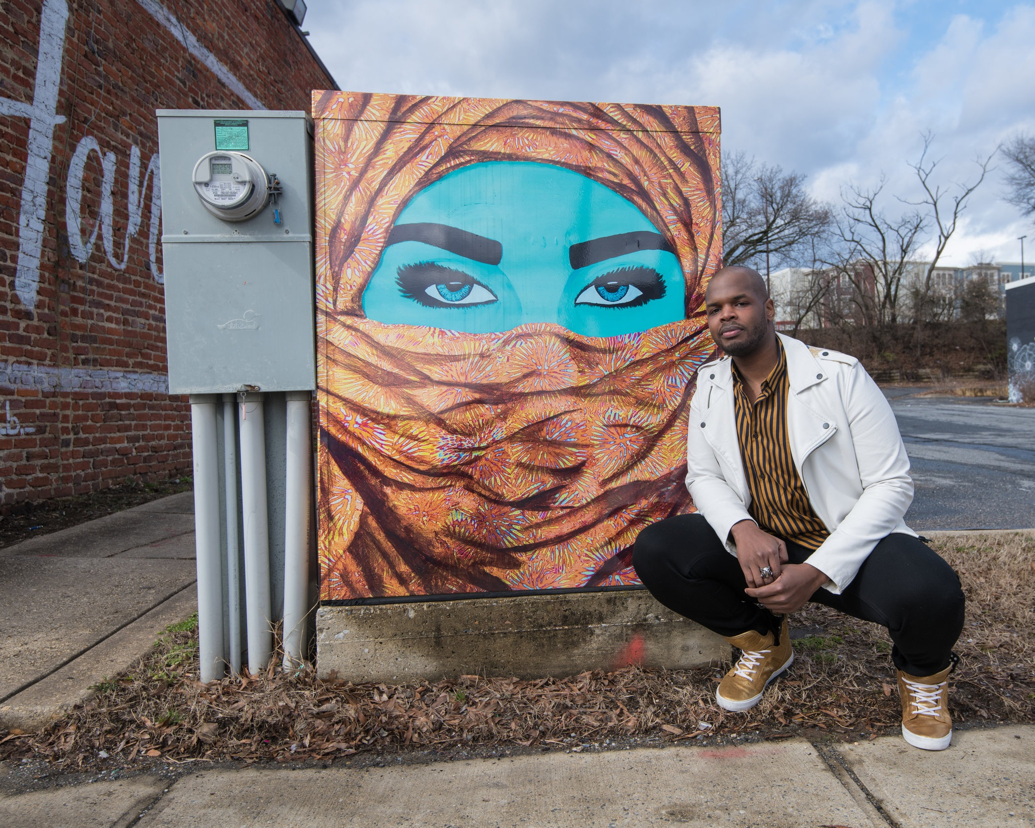 rashad-ali-muhammad-maryland-artist-hyattsvile-traffic-box-art2