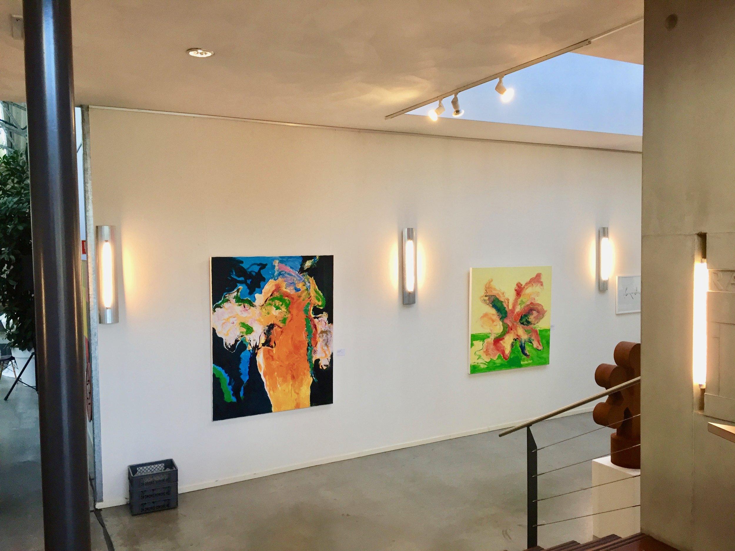 Galerie Helga Hofman, zomeropstelling 2018