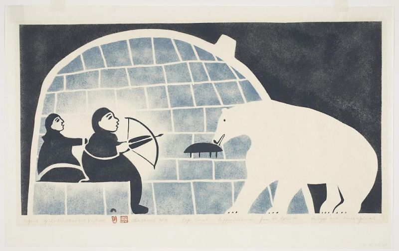 Inuit arts and crafts baffin safari