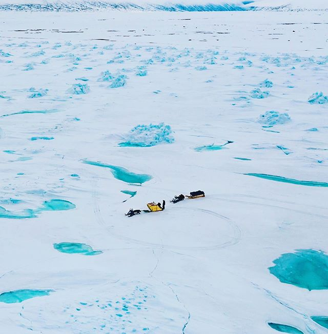 Loading... #2019 #BaffinSafari #PhotosComingSoon . . . . #BaffinIsland #snowmobile #spring #nunavut #nunavuttourism #polarbear #expedition #arctictourism #hotairballoon #FloeEdge #snowmobile #arctic #polar #arcticcircle #exploreCanada