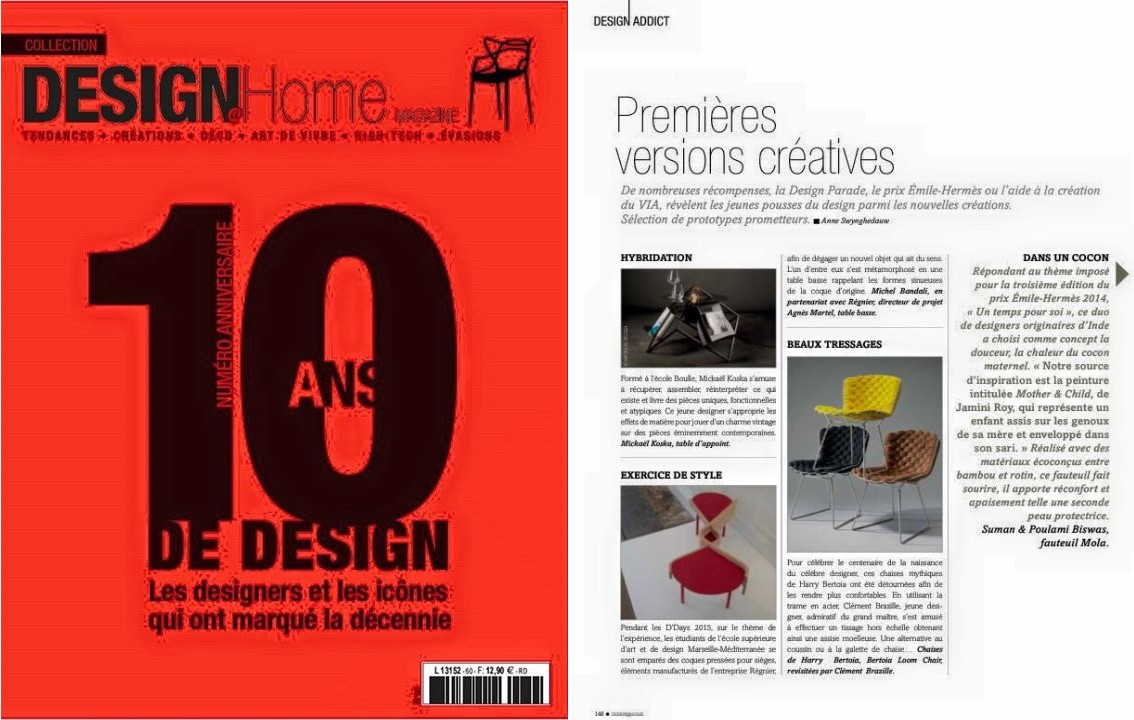 DESIGN HOME - Juin 2015
