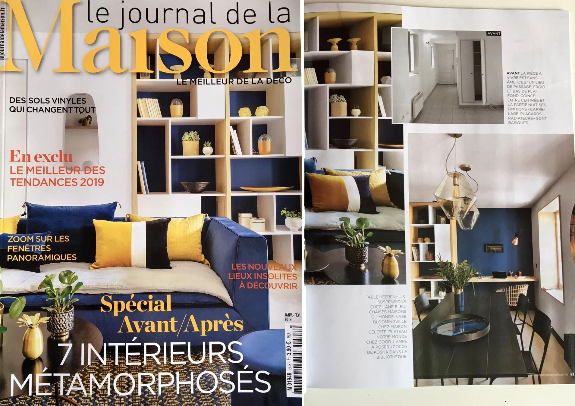 JOURNAL DE LA MAISON - JANVIER 2019