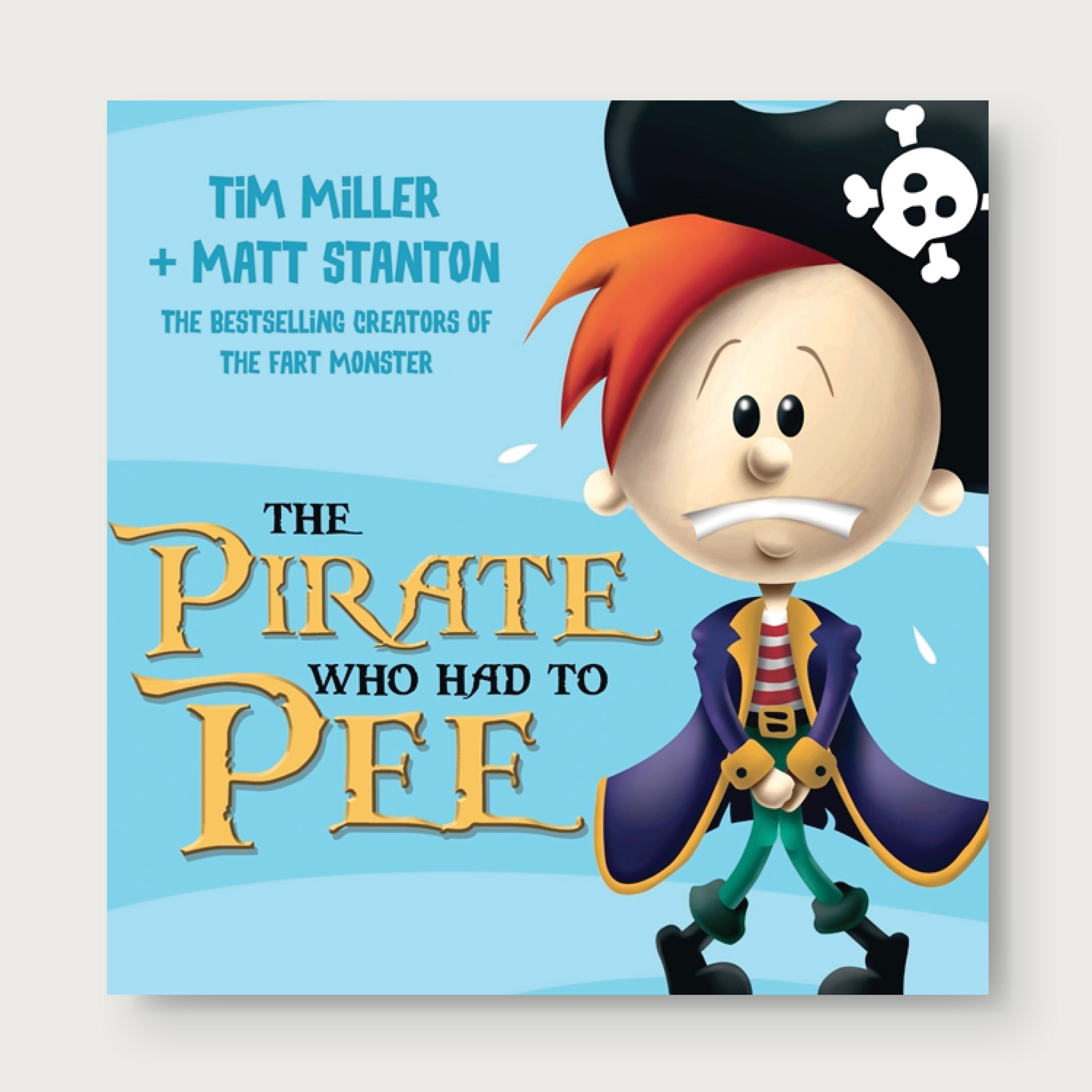 From the bestselling authors of There Is a Monster Under My Bed Who Farts!    Pirate Pete had to pee as he sailed across the ocean... The toilet's broken onboard Captain Bones' ship and Pirate Pete needs to pee! It's a race back to town across a vast amount of water. With the constant splashing, dripping and swirling, will Pete be able to hold on? Ages: 2+