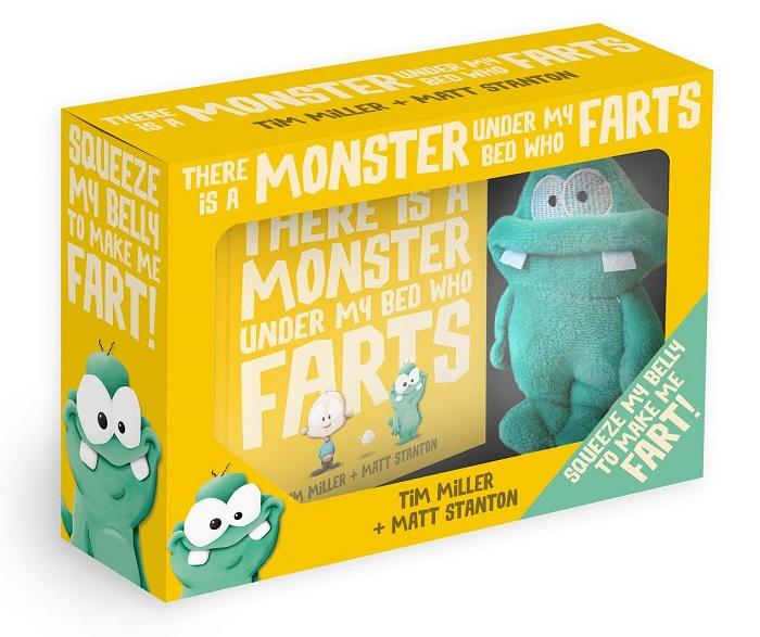 The bestselling picture book, now with farting plush!  Everyone says, 'It wasn't me!' But what if it REALLY wasn't you? What if it was the monster who lives under your bed? How much trouble can one little monster cause ...  Everyone's favourite Fart Monster is back in this brilliant gift edition, a boxed set containing a mini hardback picture book and a farting plush toy!  Ages: 3+