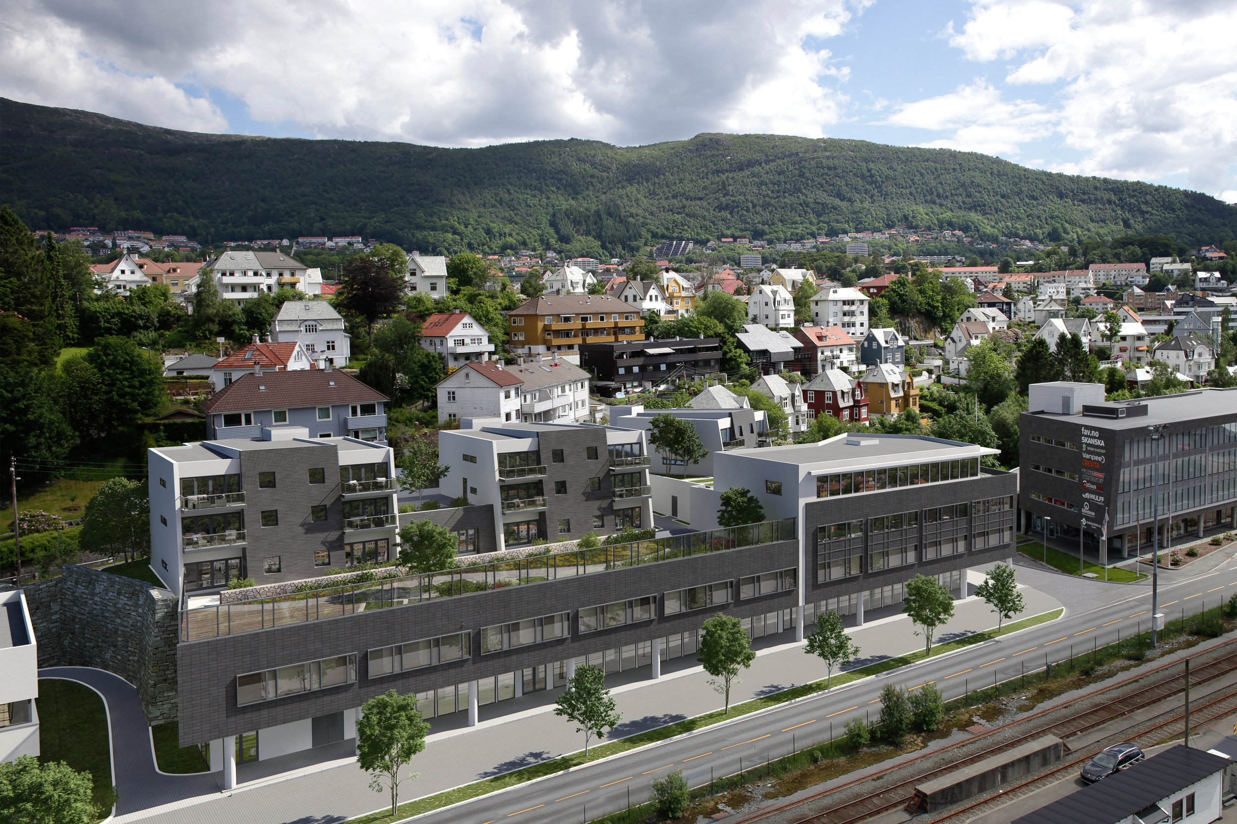 Kanalveien 60 - New residential and commercial project