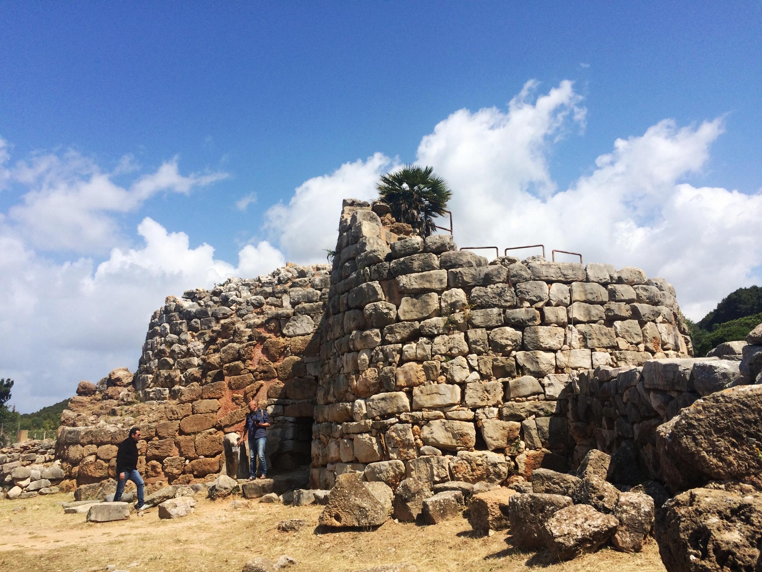 Archeology site in Sardinia