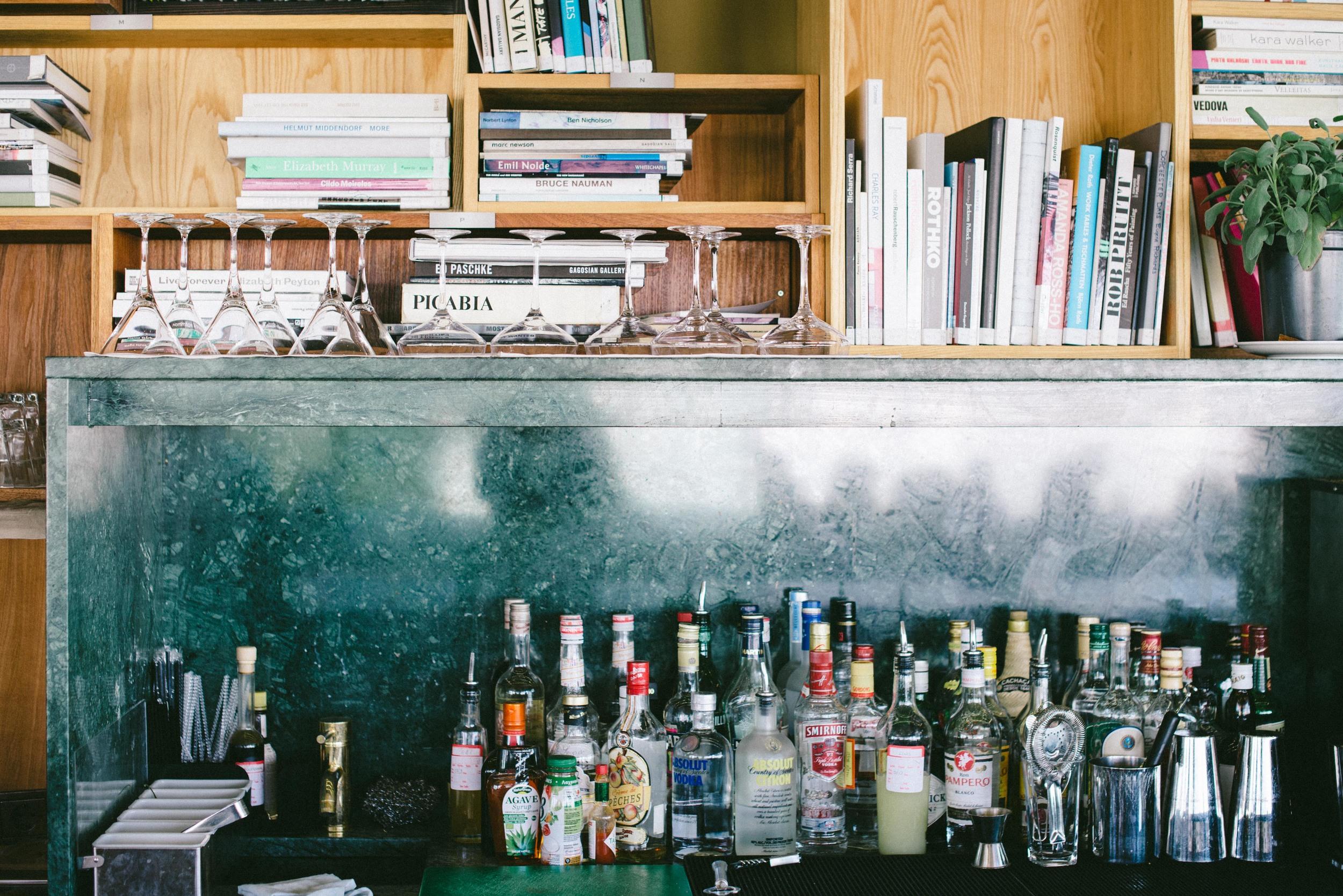 Part of the Art Lounge bar
