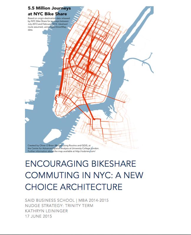 Citi Bike Nudge Strategy Report