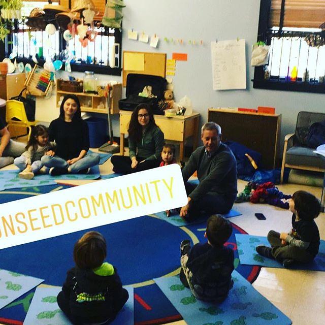 Yoga and Mindfulness at @kaplanpreschool #choosejoy #weareallinthistogether❤️