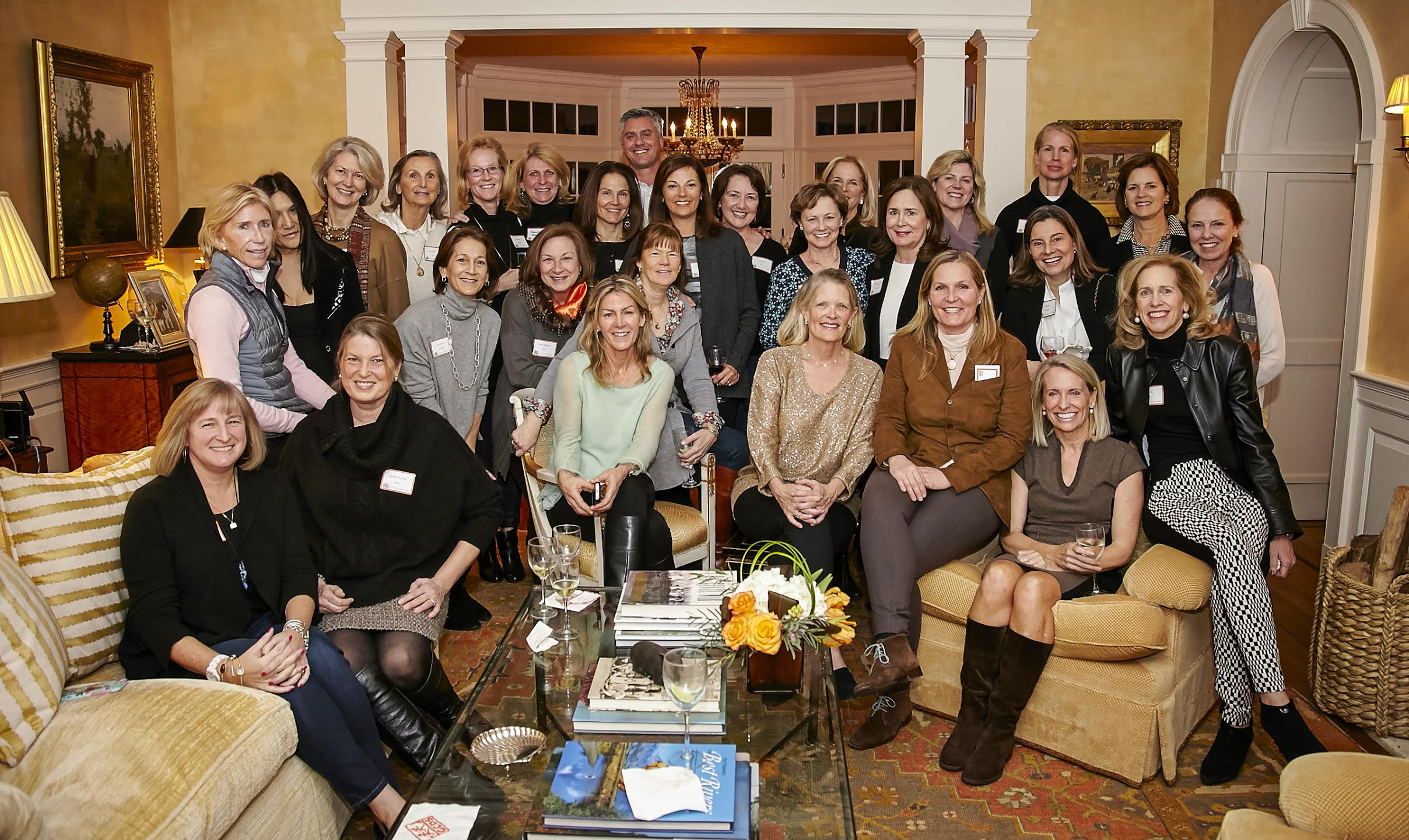 """Mothers of the class of 2007 gather with their """"GCDS family."""""""