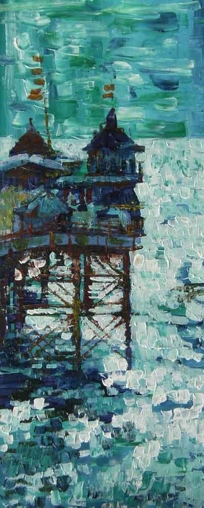 Old Brighton Pier