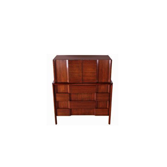 Edmund Spence 1950 Walnut Dresser (Sweden)